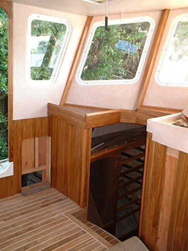 3/ 4インチ厚チーク材木製、100% Heartwoodチーク材、20平方フィートGreat forボート