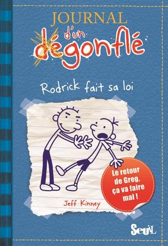 Journal Degonfle Rodrick Diary French product image