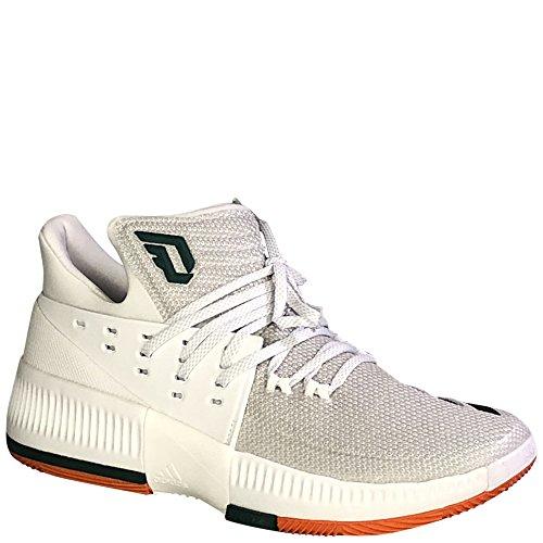 Adidas Heren Sm Dame 3 Nba / Ncaa Basketbal Runningwhite / Cgreen / Orangesld 9,5 D (m) Ons
