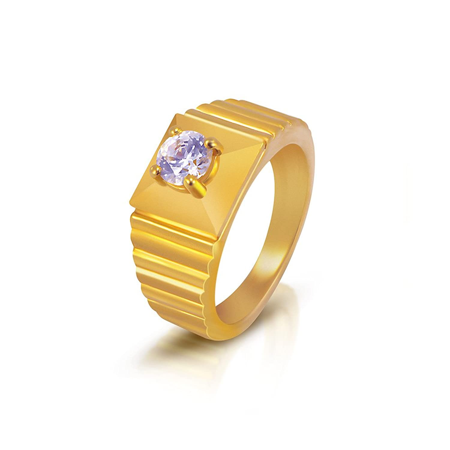 yellow for style engagement gold women lovely of wedding ring kerala rings