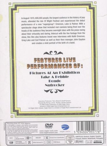 Amazon.com: Birth Of A Band: Live At Iow 1970 [DVD] [2006]: Lake & Palmer Emerson: Movies & TV