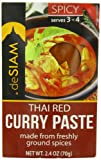 panang curry mix - deSIAM Curry Paste, Thai Red, 2.4 Ounce (Pack of 6)
