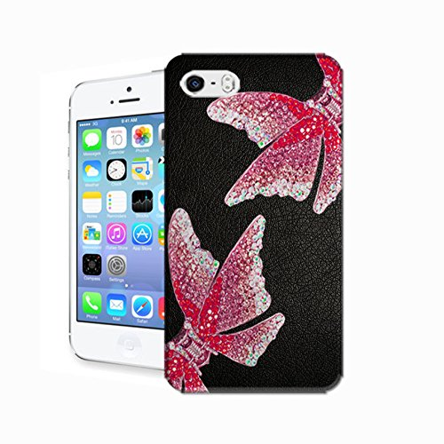 EpicGadget(TM) For Apple iPhone 5S and iPhone 5 Handmade Luxury Bling Bling White PU Leather Case With Crystal Bow knot Wallet Case Magnaet Flip Cover With Credit Card Holder + iPhone 5 5S Screen Protector + 1 Stylus Pen (Random Color) (US Seller!!)