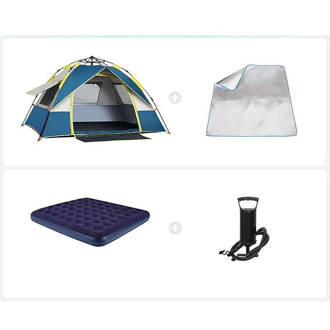 fácil de Instalar Playa Viaje Apto para 2 Personas Camping Familiar ZZWL Tienda de campaña Pesca