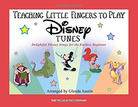 Teaching Little Fingers To Play Disney Tunes Book Only (Tv Tunes For Guitar)