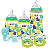 NUK Fashion Confetti Ducks Orthodontic Bottle and Pacifier...