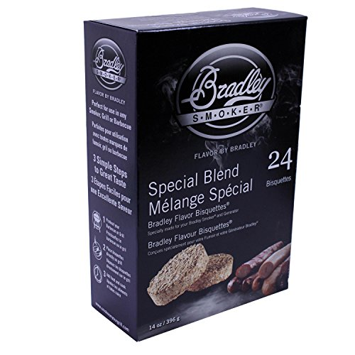 Bradley Technologies Smoker Bisquettes Special Blend 24 Pack
