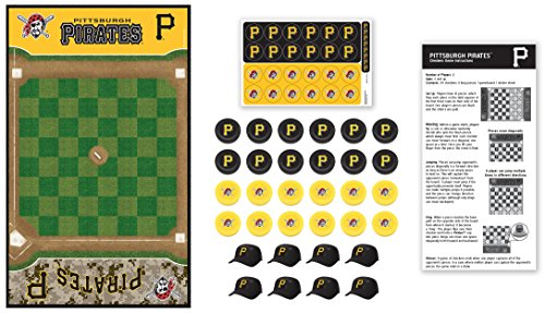(MasterPieces MLB Pittsburgh Pirates Checkers Board Game)