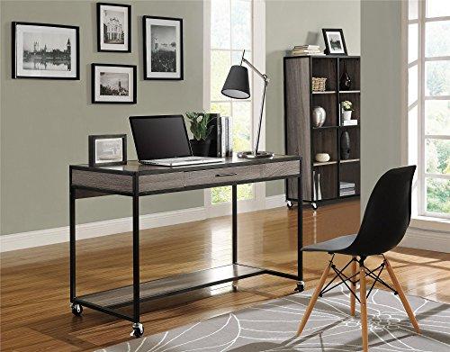 Altra-Mason-Ridge-Mobile-Desk-with-Metal-Frame-Sonoma-OakBlack