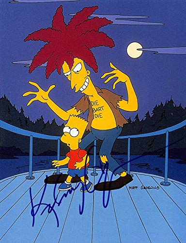 Kelsey Grammer The Simpsons Sideshow Bob Signed 8.5x11 Photo BAS #H13123 - Beckett Authentication
