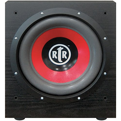"BIC America RtR-EV1200 Eviction Series 12"" 475W Powered Subwoofer Black"