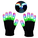 Teen Boys Gifts, DIMY Flashing Gloves Gifts for Teen Girls Birthday Present Boys 11 Years Old 7 Years Old G03