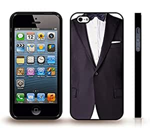 iStar Cases? iPhone 4 Case with Tuxedo with a Bow Tie, Photo, Close-up , Snap-on Cover, Hard Carrying Case (Black)
