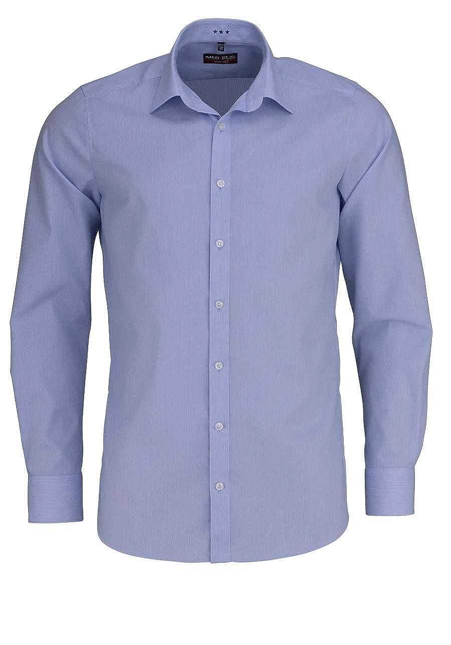 TALLA 44. Marvelis - Camisa Formal - Rayas - Clásico - para Hombre