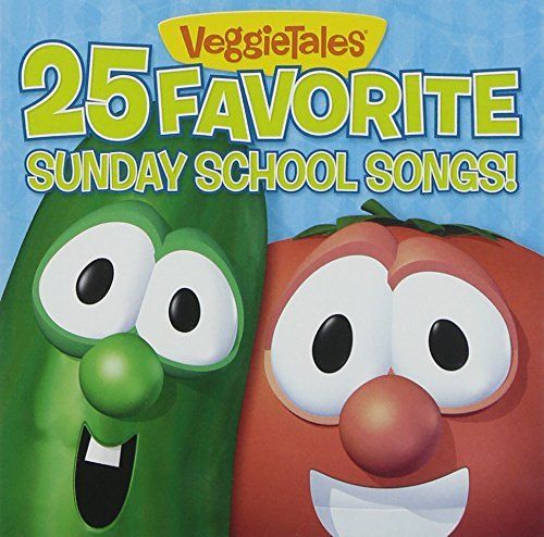 25 Favorite Sunday School Songs! by Veggietales (2009-03-17) ()