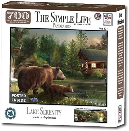 Lake Serenity 700 Pieces The Simple Life