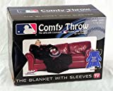 The Northwest Company MLB Minnesota Twins Comfy Throw Blanket with Sleeves