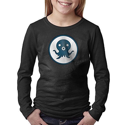 Kid's Youth Octonauts Logo Long-Sleeve Tshirts XL -