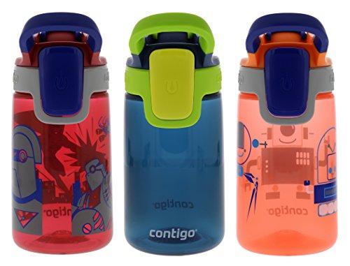 Contigo Water Bottles, Cardinal/Nautical/Nectarine ()