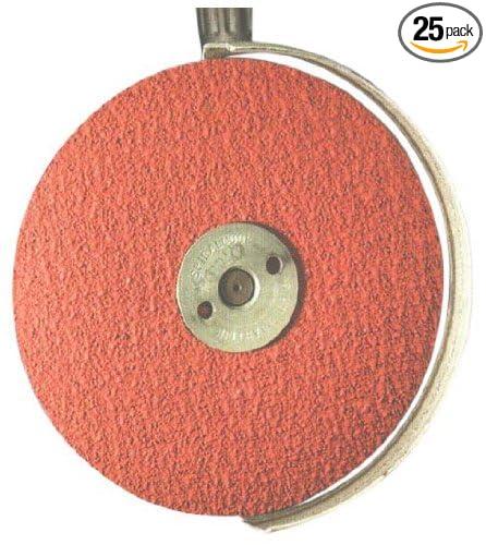 25 Pack United Abrasives-SAIT 56313 SAIT 9S 4-1//2 X 7//8 80X Blue Line Disc
