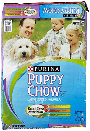 Purina 178114 Puppy Chow Large Breed, 16.5-Pound
