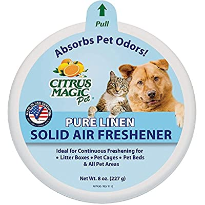 Cat Litter Beaumont Products, Inc. Citrus Magic Pet Odor Absorbing Solid... [tag]