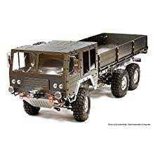 Integy RC Model Hop-ups C25853GUN Billet Machined 6X6 7T GL High-Mobility Off-Road Truck 1/10 Size ARTR