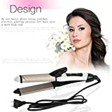 Professional Automatic Wet Dry Dual Use 2 In 1 Hair Straightener Curler