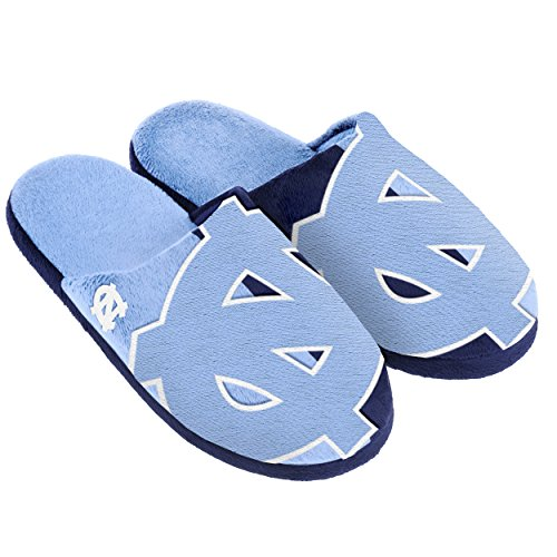 FOCO North Carolina Split Color Slide Slipper Large by FOCO