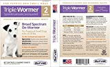 Triple Wormer for Puppies and Small Dogs + Free Health & Vaccination Record