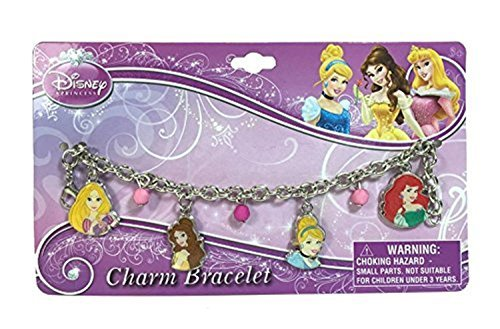 Princesses Charm Jewelry with Adorable Bracelet ()