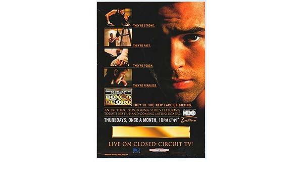 a791237715b9 Amazon.com  Oscar De La Hoya presents Boxeo de Oro POSTER (27