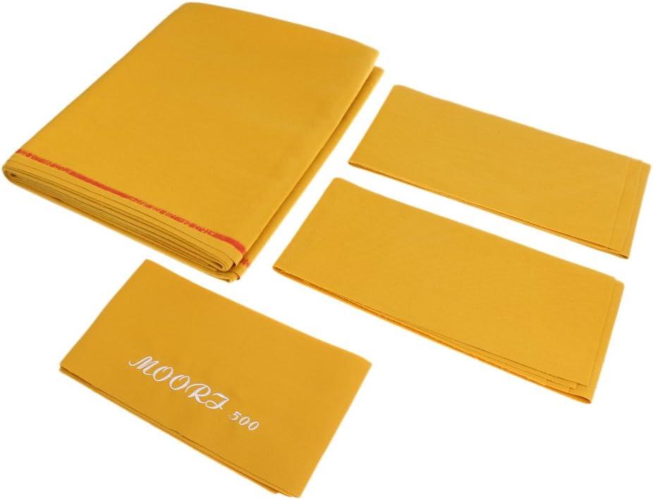 Perfeclan ビリヤード プールテーブル クロス ベッドクロス ビリヤードクロス 9フィート 4色選べる ゴールデンイエロー