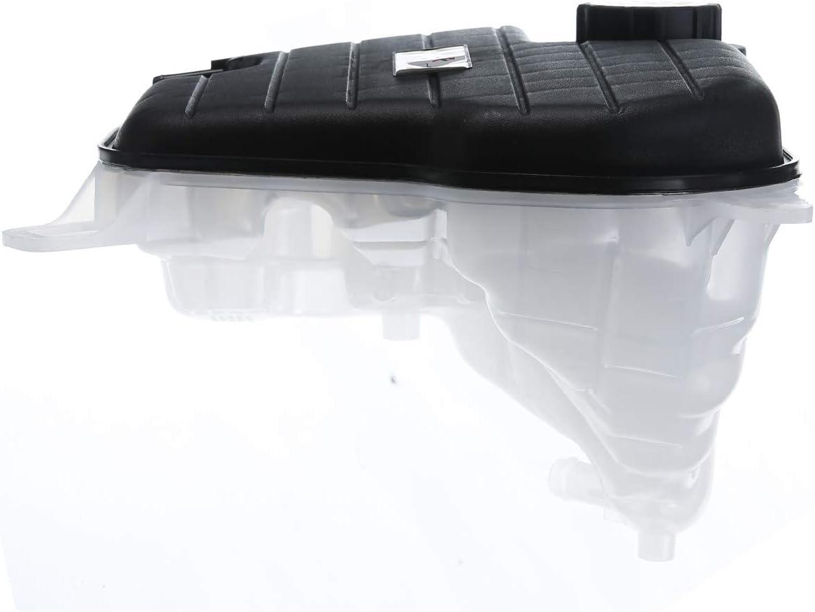 A-Premium Coolant Expansion Tank with Sensor and Cap for Jaguar XJ 2010-2018 XJR 2014-2017