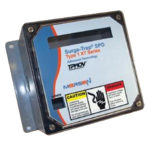 Mersen Surge-Trap Type 1 XR Series Polycarbonate Surge Protective Device 240V 50 Surge Rating STXR240V3D50 3 Pole Delta