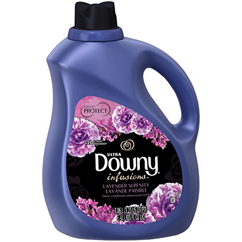 Downy Ultra infusions Lavender Serenity Fabric Softener, 103 Oz