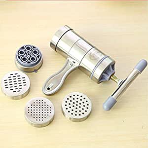 MuLuo Portable Household Stainless Steel Manual Pasta Maker Citrus Juicer