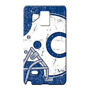 samsung note 4 Classic shell PC Cases Covers Protector For phone cell phone carrying cases indianapolis colts nfl football