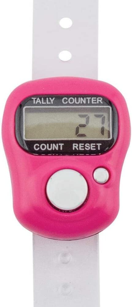 Finger Row Counter Tally Digital Knitting Crochet Sowing