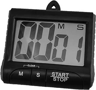 YTCWR Minuterie Multifonction avec chronomètre (Noir)
