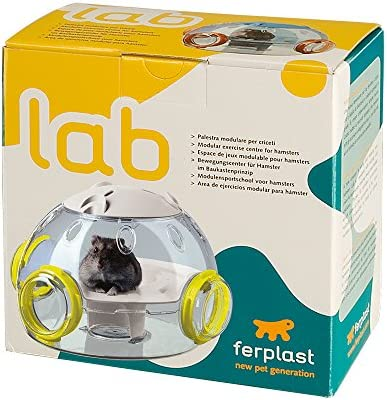 Compatible with All Ferplast Hamster Play Tubes Ferplast Hamster Gym /& Science Lab Modular Units to be Added onto Your Ferplast Hamster Habitat