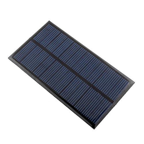 CXZX Protable 6V 1W Mini módulo de Panel Solar Transformación de energía de Bricolaje para el Cargador Celular al Aire…