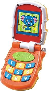 Flip e Impara Telefono Giocattolo Elettronico, Bambini