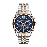 Michael Kors Men's Lexington Two-Tone Watch MK8412