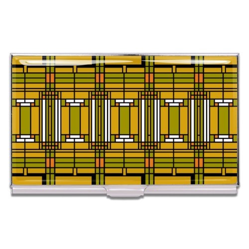 Acme Business Card Case - ACME Studios Home and Studio Business Card Case by Frank Lloyd Wright (CW38BC)