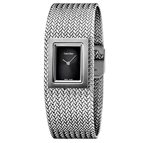 Calvin Klein Mesh Women's Quartz Watch K5L13131