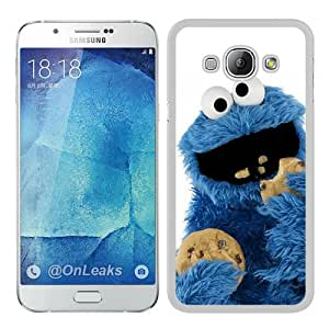 cookie monster White Special Custom Picture Design Samsung Galaxy A8 Phone Case