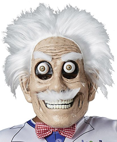 Mad Scientist Mask (Halloween Mask- Mad Scientist Mask Googly Eyes -Scary Mask)