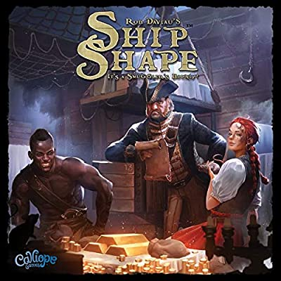 Calliope Games ShipShape 3D Puzzle and Bidding Boardgame: Calliope Games: Toys & Games [5Bkhe0202924]