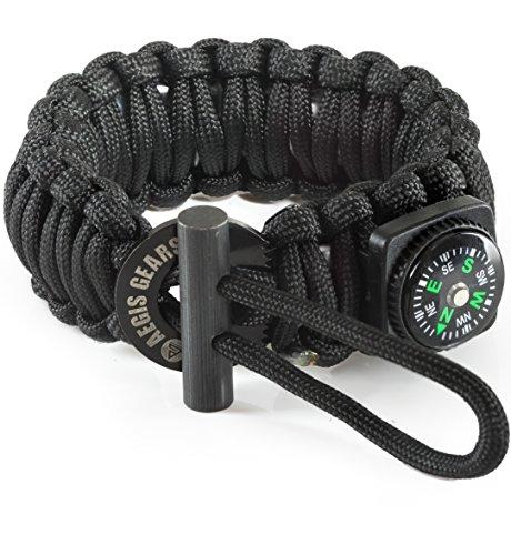 550 cord bracelet fire starter - 1